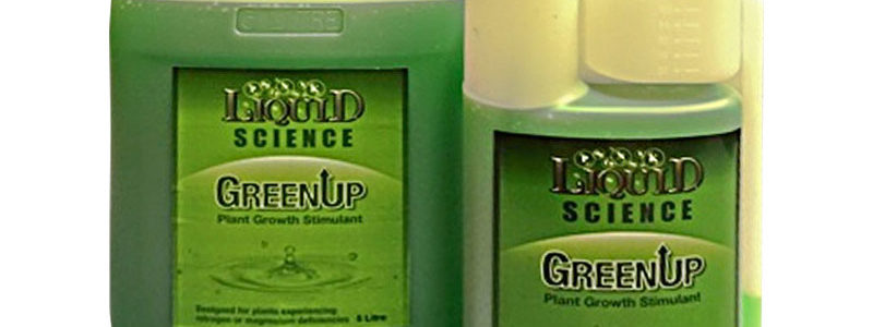 Liquid Science – Green-Up